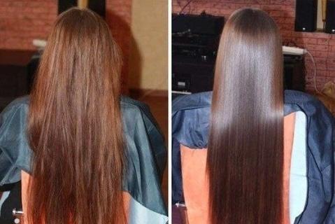 как мазать кокосовым маслом волосы